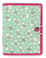 Filofax Cover Story English Bloom A7 Pocket diář kapesní s kvítky